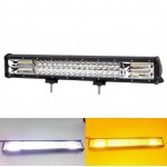 LED αδιάβροχος προβολέας μπάρα combo 288W 96 SMD 12V-24V 6000K 13200LM 51.5cm για βάρκα/τρακτέρ/φορτηγό/αυτοκίνητο με 5 λειτουργίες IP67 OEM