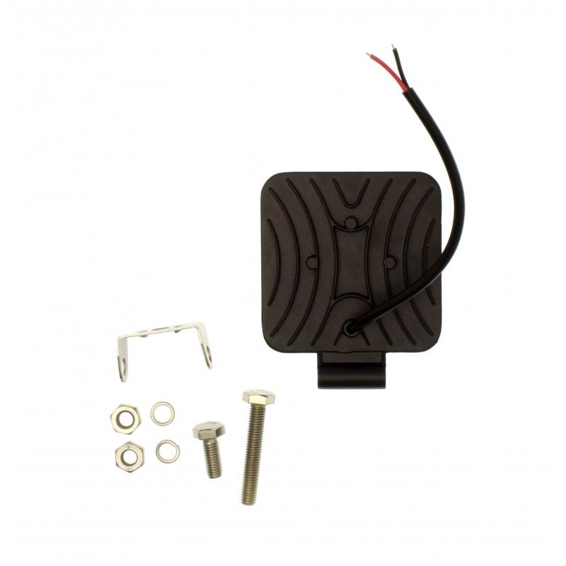 LED mini αδιάβροχος προβολέας κατευθυντικός 8.4 cm 48W 16 SMD 9-36V IP67 4800LM 6500K για βάρκες τρακτέρ φορτηγά αυτοκίνητα YN-WORK-48W