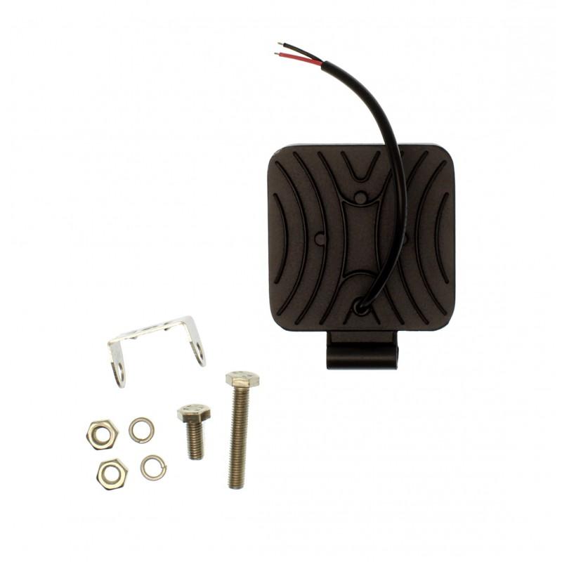 LED mini αδιάβροχος προβολέας κατευθυντικός 8.4 cm 27W 9 SMD 9-36V 2430LM 6500K IP67 για βάρκες τρακτέρ φορτηγά αυτοκίνητα YN-WORK-27W