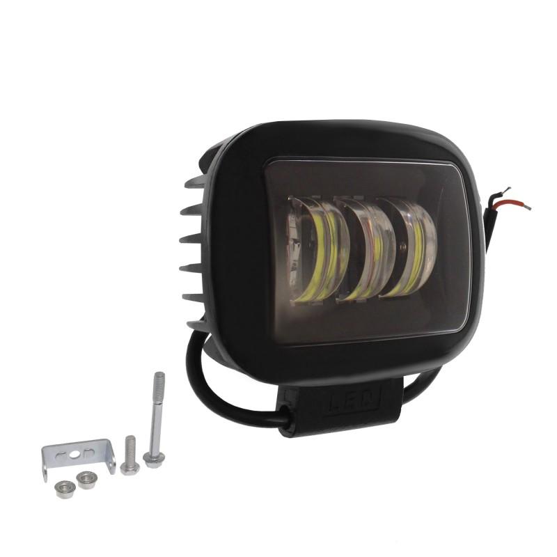 LED αδιάβροχος προβολέας κατευθυντικός 11.3cm 30W 6 SMD 9-30V 4050LM 6000K IP68 για βάρκες τρακτέρ φορτηγά αυτοκίνητα ROLINGER ΟΕΜ