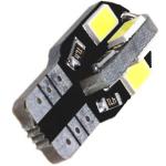 T10 12V 8SMD LED W16W 6000K 1 τεμ. OEM