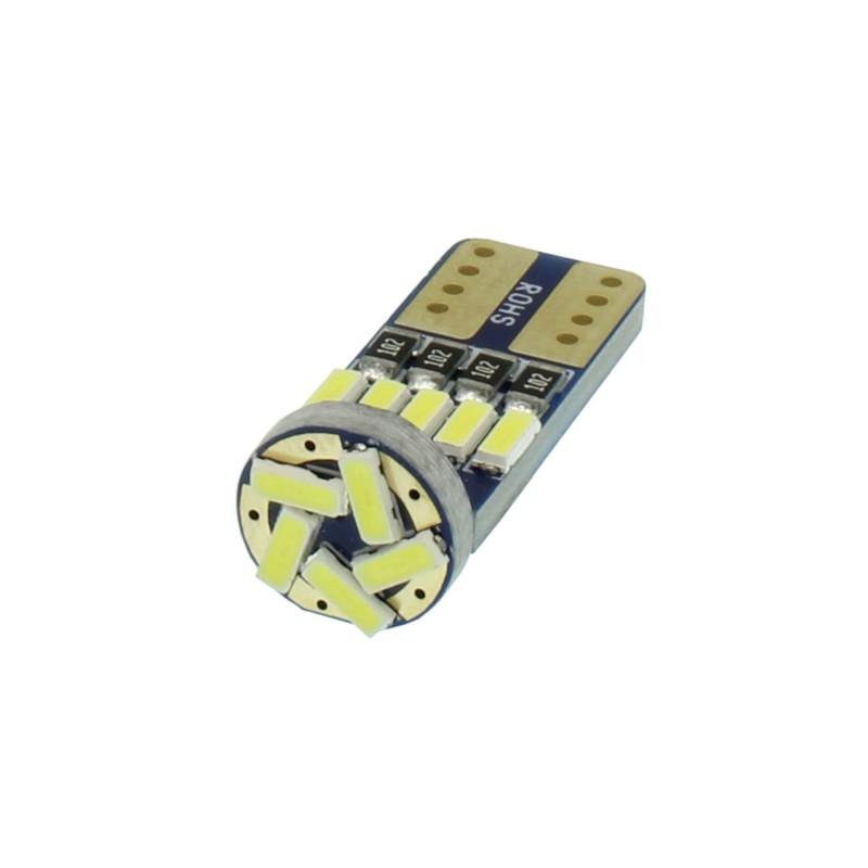T10 LED 15 SMD 24V 6000K ψυχρό λευκό 1 τεμ. OEM