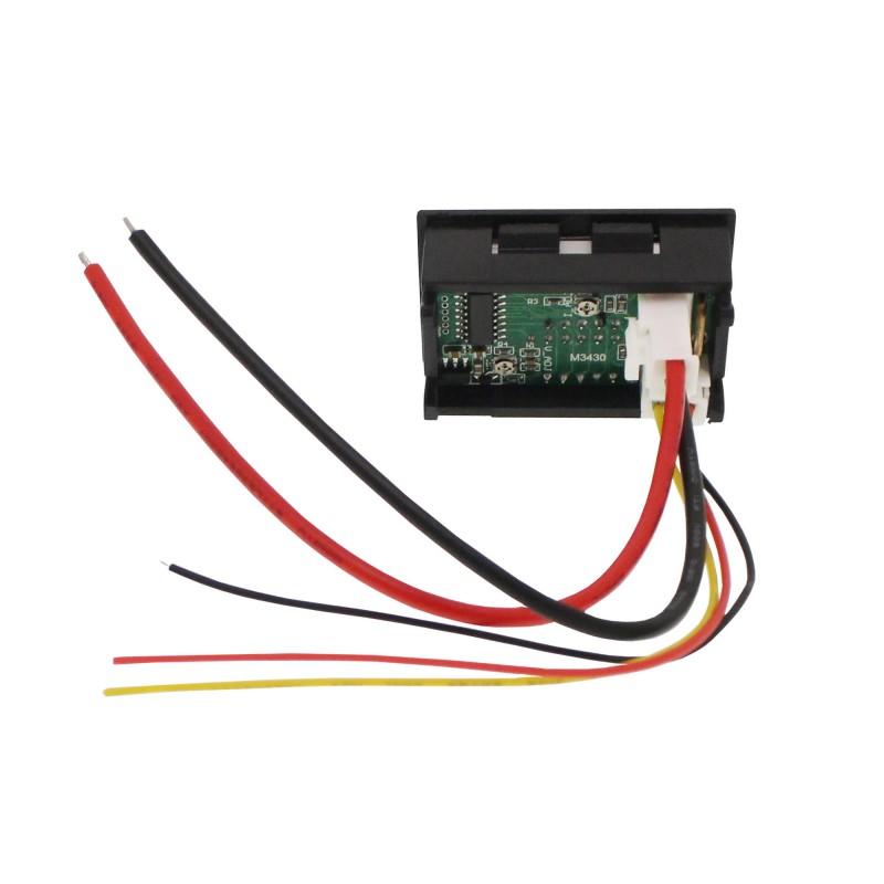 Ψηφιακό βολτόμετρο και αμπερόμετρο αυτοκινήτου/φορτηγού 4.5-30V M3430 OEM