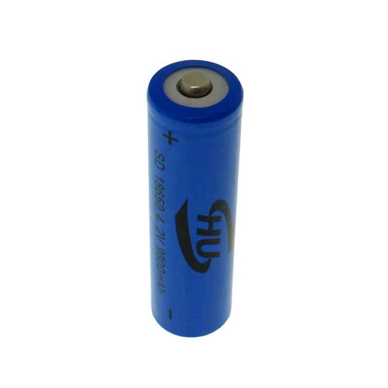 Επαναφορτιζόμενη μπαταρία 1 τεμάχιο τύπου 18650 Li-ion 4.2V 1200mAh HU OEM