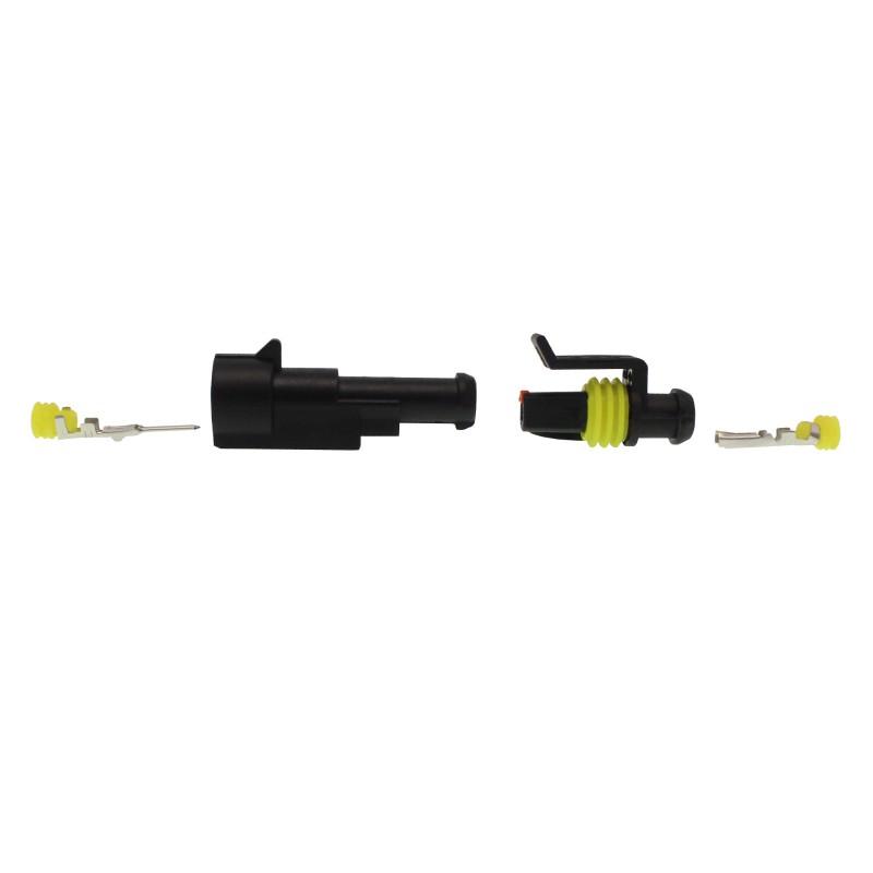 Αδιάβροχος σύνδεσμος καλωδίων IP65 1 pin OEM