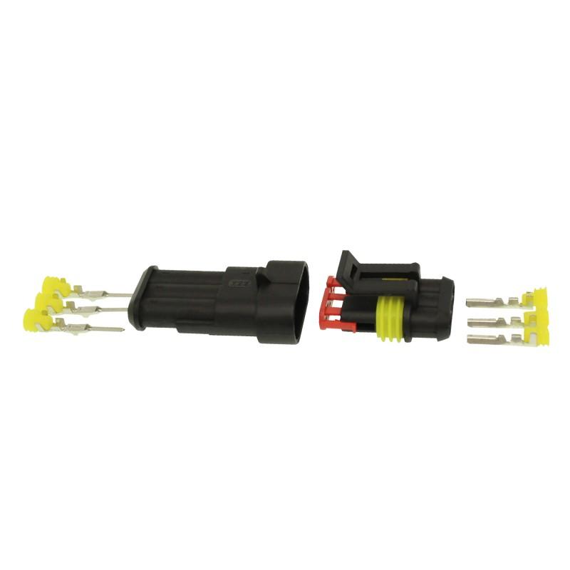 Αδιάβροχος σύνδεσμος καλωδίων IP65 3 pins OEM