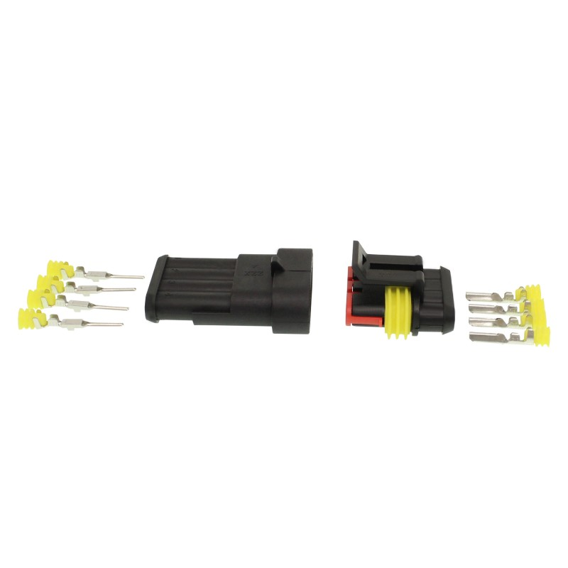 Αδιάβροχος σύνδεσμος καλωδίων IP65 4 pins OEM