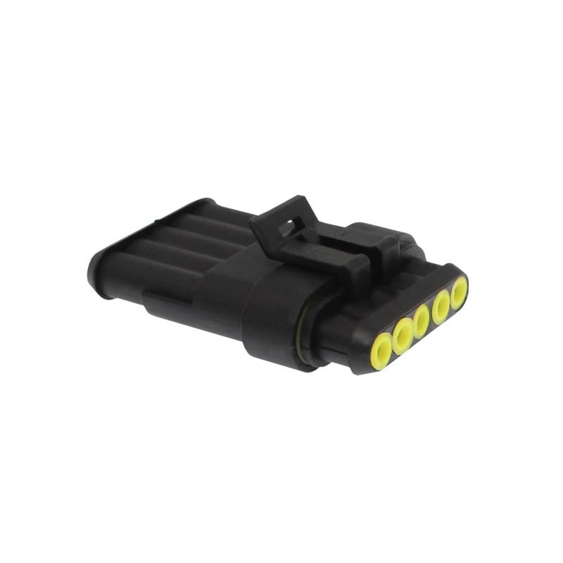 Αδιάβροχος σύνδεσμος καλωδίων IP65 5 pins OEM