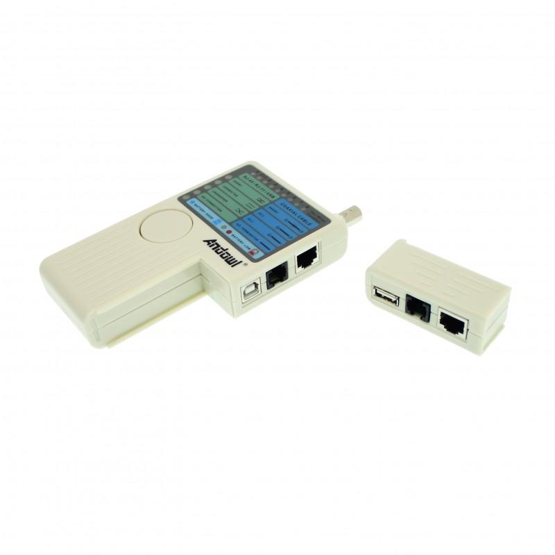 Πολυλειτουργικός δοκιμαστής καλωδίων δικτύου Cable Tester OEM