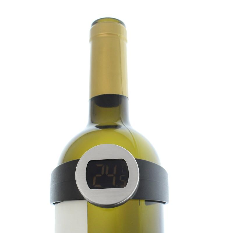 Ψηφιακό θερμόμετρο κρασιού με LCD οθόνη
