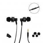Ακουστικά handsfree 3.5mm jack μαύρα ES900iAwei