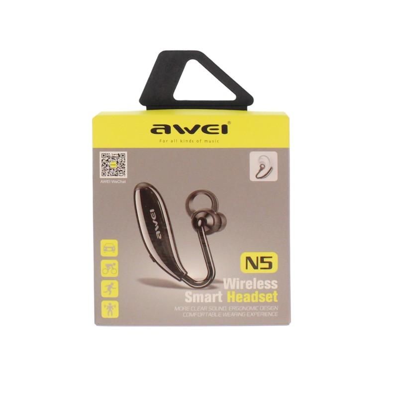 Aσύρματο Bluetooth ακουστικό λευκό N5 Awei