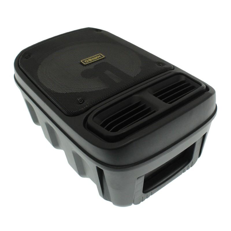 Ασύρματο Bluetooth φορητό ηχείο και karaoke USB με μικρόφωνο και XLR υποδοχή Kimiso KMS-3383 OEM