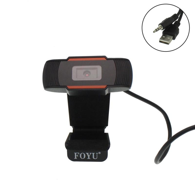 Κάμερα υπολογιστή με μικρόφωνο 1080P HD FOYU FO-COO4 OEM