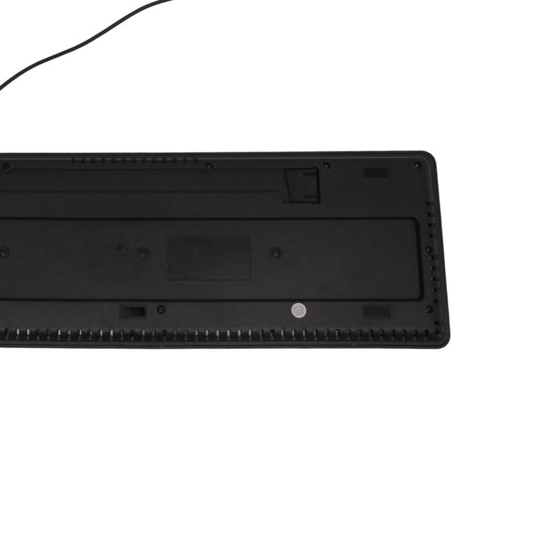 Ενσύρματο πληκτρολόγιο USBμαύρο ΟΕΜ
