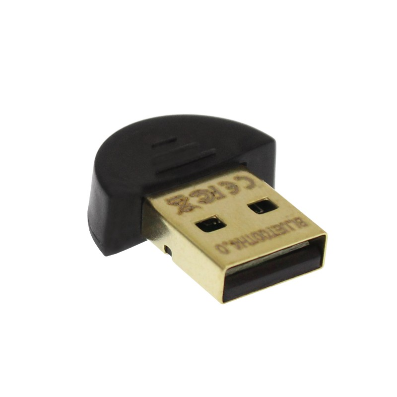 Ασύρματο Bluetooth USB CSR 4.0 dongle gold plated μαύρο ΟΕΜ