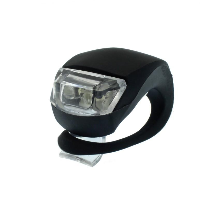 LED φως σιλικόνης για ποδήλατο μαύρο OEM