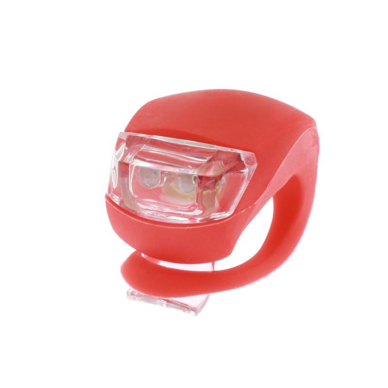 LED φως σιλικόνης για ποδήλατο κόκκινο OEM