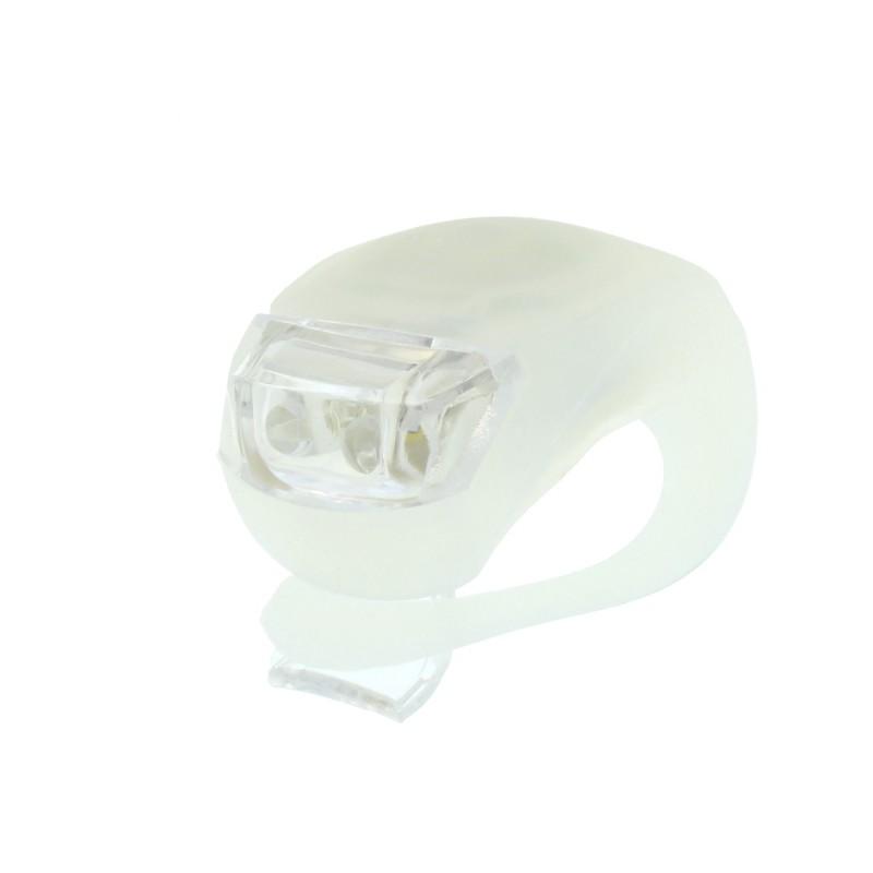 LED φως σιλικόνης για ποδήλατο λευκό OEM
