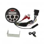 Αδιάβροχο Ασύρματο Ραδιόφωνο USB/MP3 Player με Bluetooth 12V IPX5 Μαύρο για σκάφη GR304 GUZARE OEM