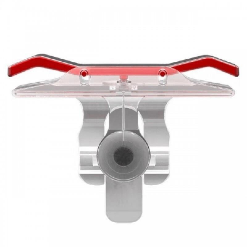 Εξωτερικά πλήκτρα για κινητό R1 L1 2 τεμ. κόκκινα F55 Gadget ee3624