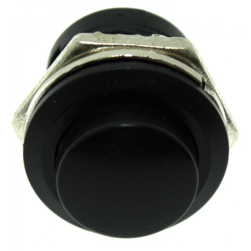 Αδιάβροχος διακόπτης button εντολής (κόρνα / εκκίνηση κινητήρα) μαύρο OEM Διακόπτες ee4019