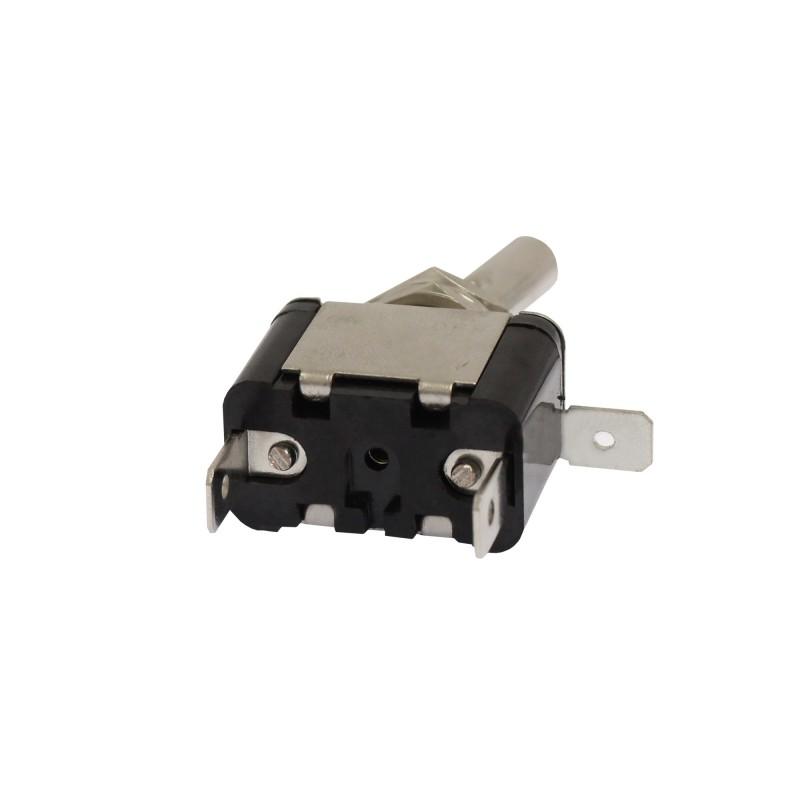 Διακόπτης αεροπορικού τύπου On/Off 2 pins 12V 20Α με λευκό LED ΟΕΜ