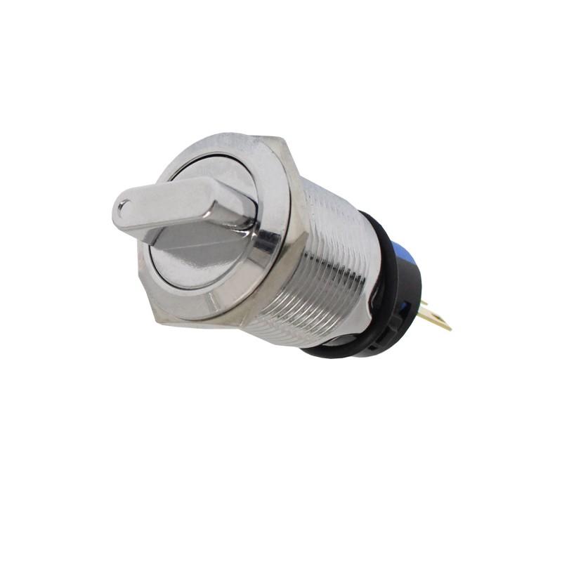 Αδιάβροχος διακόπτης On/Off 3 pins 12/24V (Φ) 18mm W11054-4 RCHANG
