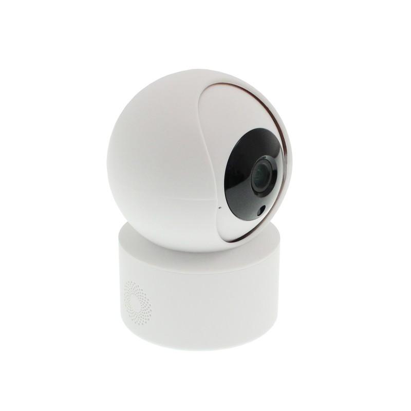 Κάμερα παρακολούθησης 355° εσωτερικών χώρων Wifi λευκή 1080P OEM