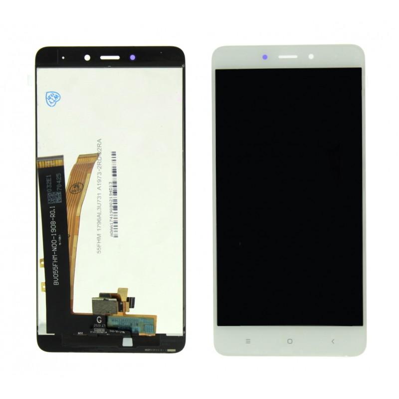 LCD οθόνη και πλαίσιο για Xiaomi Redmi Note 4 Global version οθόνη & μηχανισμός αφής λευκή Οθόνες κινητού ee3986