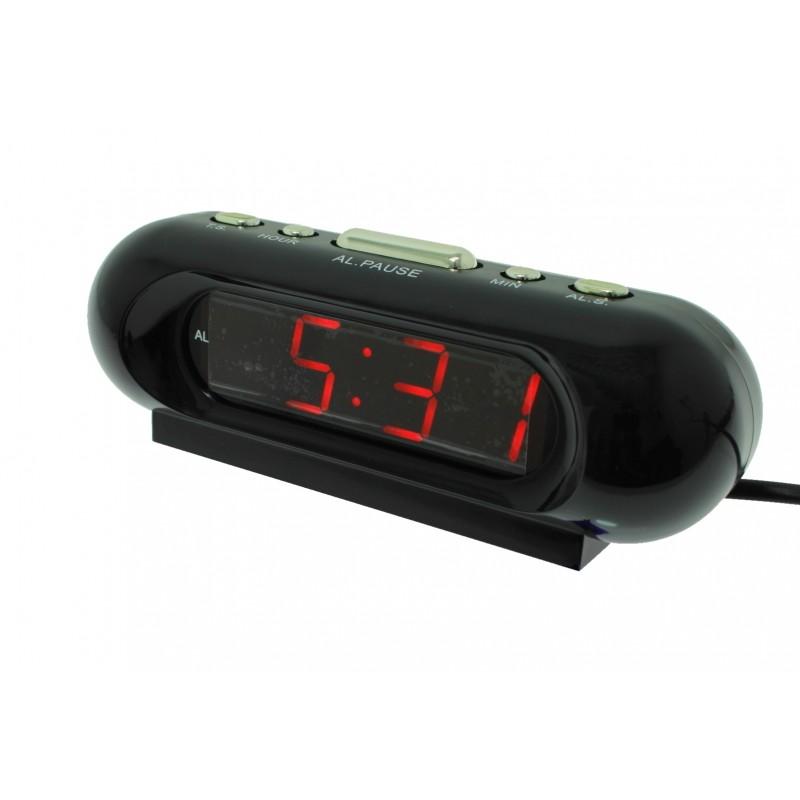 Ψηφιακό LED ρολόι με ξυπνητήρι επιτραπέζιο VST-716 OEM Επιτραπέζια ee4000