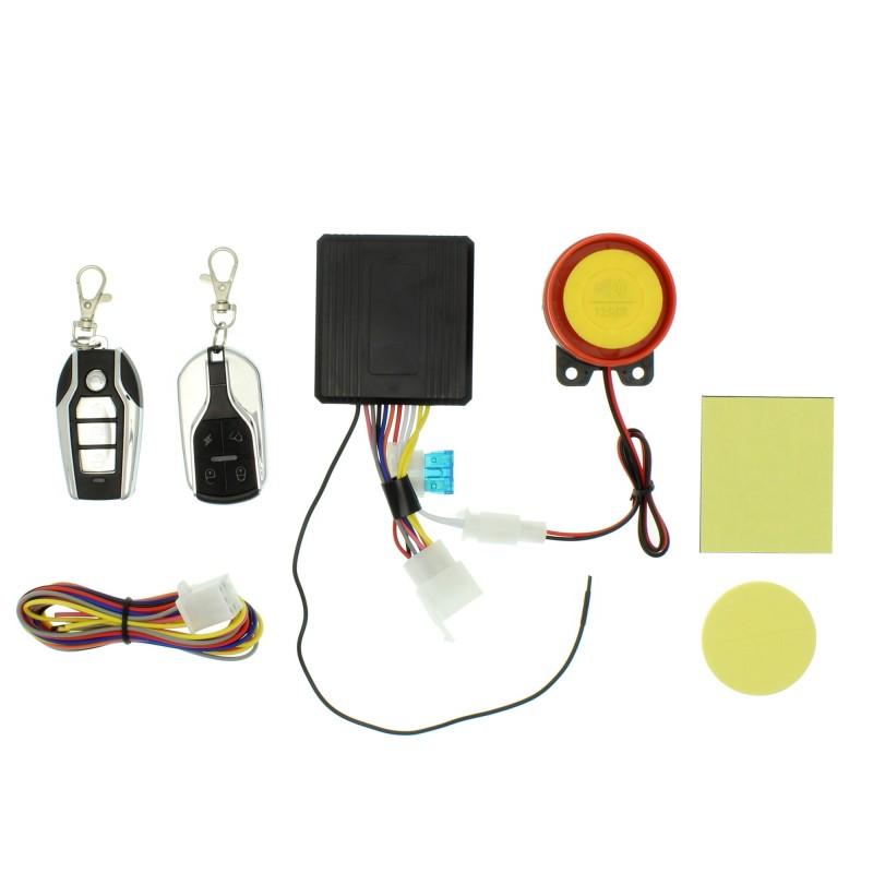 Αντικλεπτικός συναγερμός μοτοσυκλέτας remote start gold code OEM Συναγερμοί-GPS ee2441