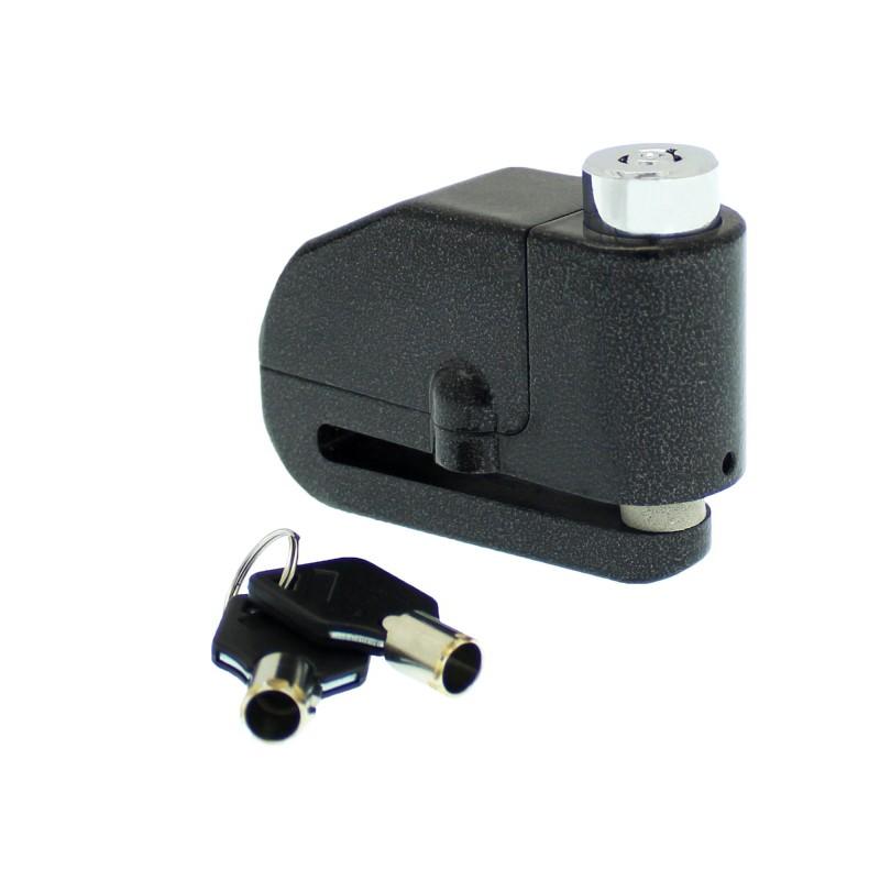 Λουκέτο δισκόπλακας με συναγερμό μαύρο LK603 OEM
