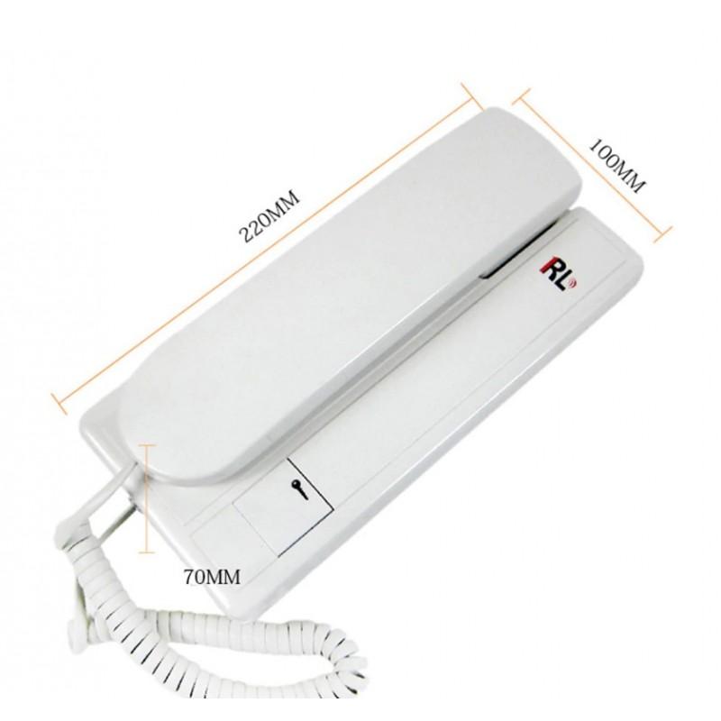 Ολοκληρωμένο σύστημα θυροτηλεφώνου με μια εξωτερική μονάδα και μια εσωτερική RL-3206B Συναγερμοί-GPS ee3381