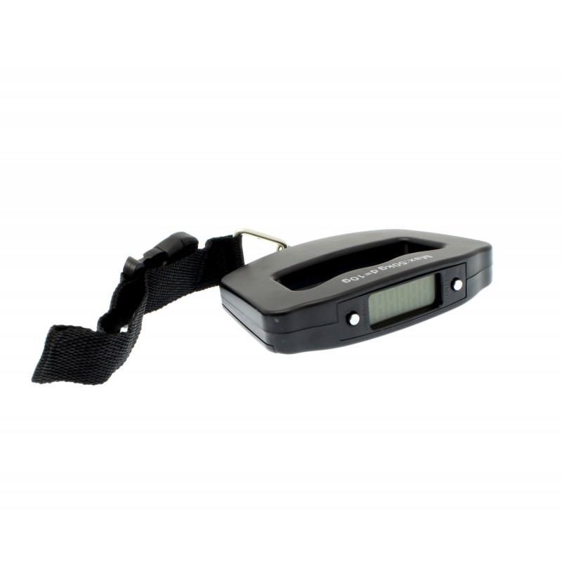 Ηλεκτρονική ζυγαριά αποσκευών με ιμάντα μαύρη A09