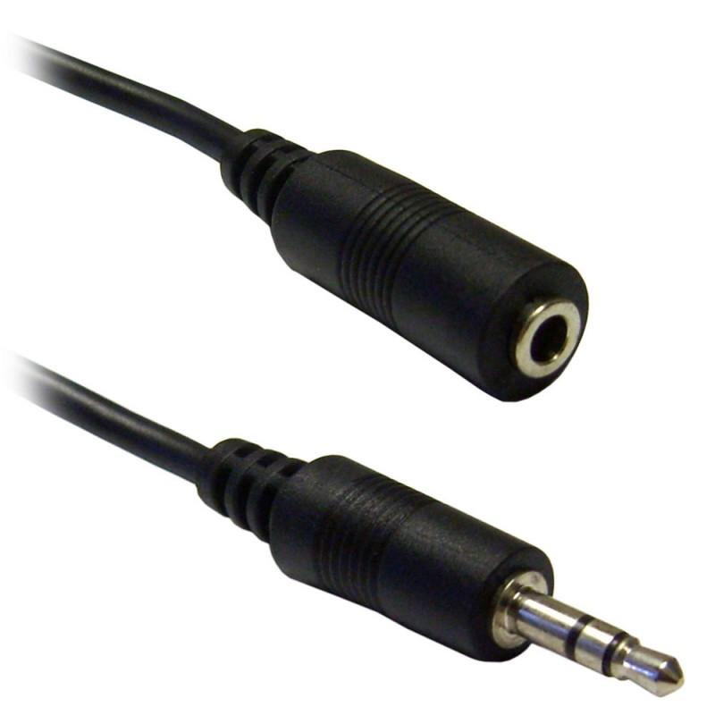 Καλώδιο επέκτασης ήχου 3.5mm jack αρσενικό σε θηλυκό 5m OEM Ηχου ee2585