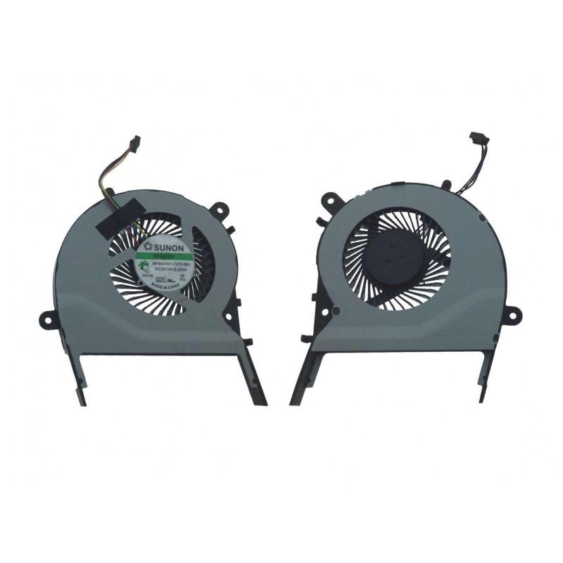 Ανεμιστηράκι/cpu fan για Asus X554 X554LA X554LN X554L X554LD X554LJ X554LP X554LI X555UA 4PIN Sunon Για Asus ee1608