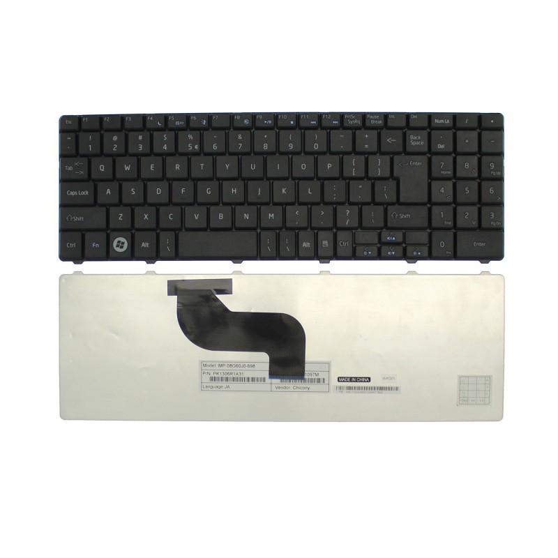 Πληκτρολόγιο Acer Emachines E525 E625 E627 E725 US μαύρο OEM
