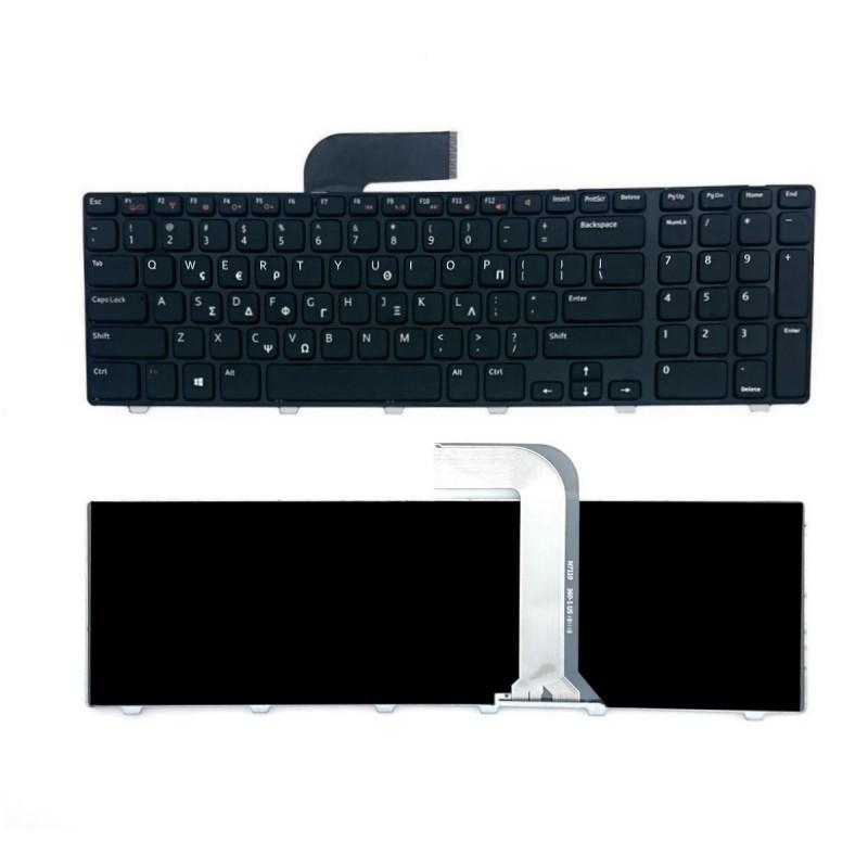 Ελληνικό πληκτρολόγιο για DELL Inspiron 17R 5720 7720 Black Frame OEM Για Dell ee3404