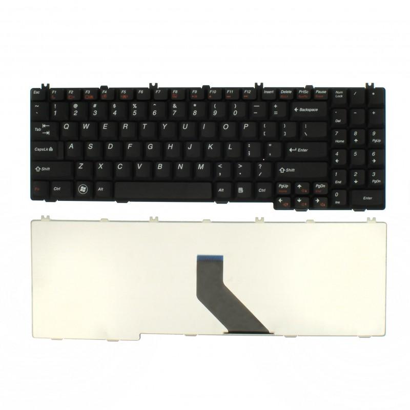 Πληκτρολόγιο Lenovo G550 B550 B560 B560A G550A G555AX V560 MP-10C13US-686 US μαύρο OEM