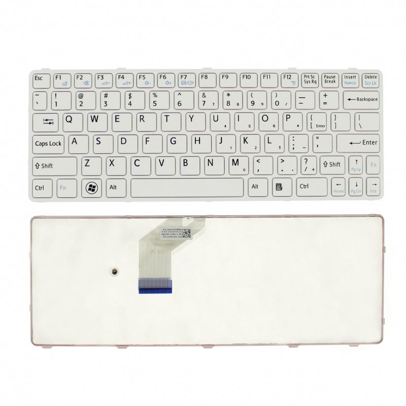 Πληκτρολόγιο Sony SVE11 λευκό US OEM