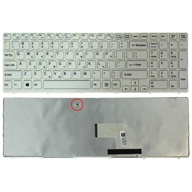 Ελληνικό πληκτρολόγιο για SONY VAIO SVE151B11W 149028811 OEM Για Sony ee3420