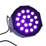 Φωτορυθμικό RGB 30-80W 220V 18 SMD LED Mini Flat Par Stage Light
