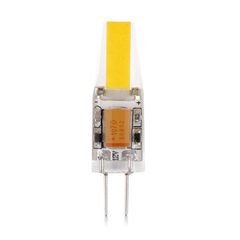 G4 3W 12V AC / DCLED σιλικόνης dimmable COB cool white 300 lumens OEM 12v ee1727
