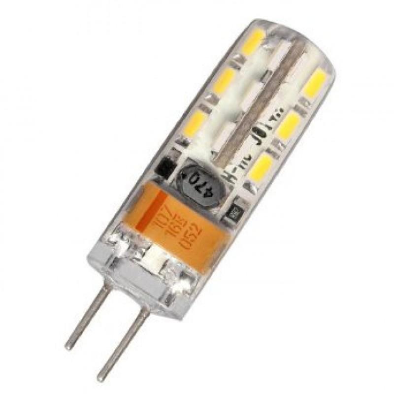 G4 2W 12V AC / DC LED σιλικόνης dimmable 24 SMD warm white 170 lumen OEM 12v ee2041