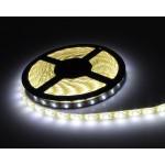 LED ταινία-strip 5050 USB 5m 24W warm white αδιάβροχη σιλικόνης με ταινία διπλής όψεως 3500K OEM PC led ee2964