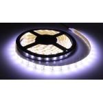 LED ταινία-strip 5050 USB 4m 19.2W white αδιάβροχη σιλικόνης με ταινία διπλής όψεως 6000K OEM PC led ee2968