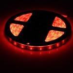 LED ταινία-strip 5m 12V 300 SMD 3528 κόκκινη αυτοκόλλητη αδιάβροχη IP65 ΟΕΜ