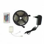 LED ταινία 5m 12V 300 SMD 3528 RGB αυτοκόλλητη IP65 με τηλεχειριστήριο OEM