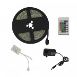 LED ταινία-strip 5m 12V 300 SMD 3528 RGB αυτοκόλλητη IP65 με τηλεχειριστήριο OEM
